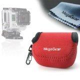 MegaGear ''Ultra Light'' Neoprene Camera Case Bag For GoPro, GoPro HD, GoPro Hero3+ (Red)