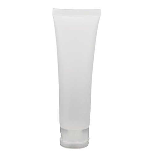 Binmer(TM) Empty Tubes Makeup Cosmetic Cream Travel Lotion Containers Bottle (50ml) (Toothpaste Tube Cap compare prices)