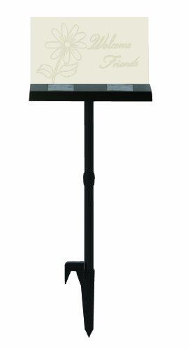 Moonrays 96951 Garden Led Welcome Sign And Outdoor Solar-Powered Led Light