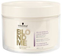Schwarzkopf Professional Blond Me Blonde Brilliance Intense Treatment - 6 oz