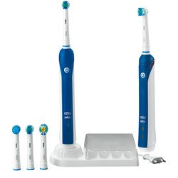 OralB ProfessionalCare 3000 2-Handle Rechargeable Toothbrush (Two Power Handles)