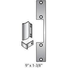 HES T-2 Option Faceplate For 1006 Series Electric Strike - Door Lock