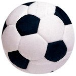 Soccer Ball Latex Dog Toy - Large