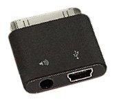 SendStation PDLO-MiU5 PocketDock Line Out Mini USB Adapter for iPhone, iPod, and iPad - Black