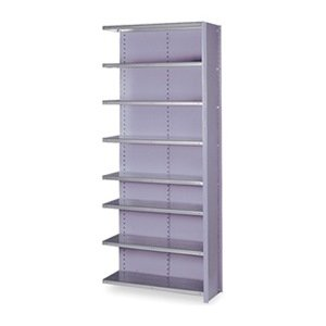 Lyon DD8080 8000 Series Closed Shelving Add-On with Traditional 8 Shelves, 36 Width x 12 Depth x 84 Height, Dove Gray inverter 8000 series vr75m3 0 75kw 380v new