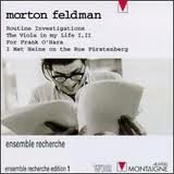 Feldman Ensemble Recherche