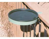Cheap Heated Bird Bath with Clamp-On Green (BS-FIGBD70)
