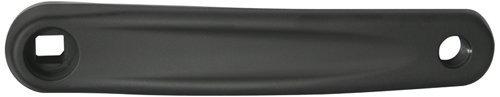 Kurbel links Alu, 170 mm, 4-kant, schwarz, SunRace