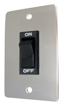Prime Products 11-0190 Rocker Switch with Chrome Plate