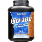 Dymatize Nutrition ISO 100, Whey Protein Powder, Chocolate,
