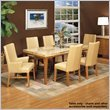 Buy Low Price Armen Living Bookmatch Dining Table by Armen Living (M22BKDICH1TO-DIPEBA4279)