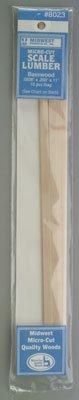Lumber,.0208 x .250 x 11 (10) - 1