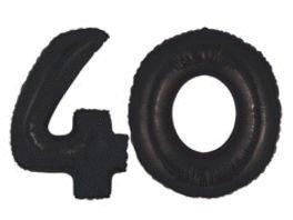 Mayflower 16186 40 inch Black Megaloons inch40 inch - Pkg