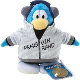 Picture of Jakks Pacific Disney's Club Penguin Plush Figure - Series 2 - BAND MEMBER (B001P83X82) (Jakks Pacific Action Figures)