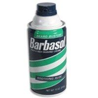 Barbasol Moisturizing Therapeutic Shave Cream for Sensitive Skin 4.4 Oz