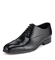 Collezione Leather Wide Fit Panelled Shoes