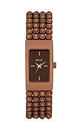 DKNY Crystal Bracelet 3-Hand Women's watch #NY8561