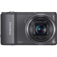 Samsung WB250F Smart Wi-Fi Digital Camera (Gun Metal)