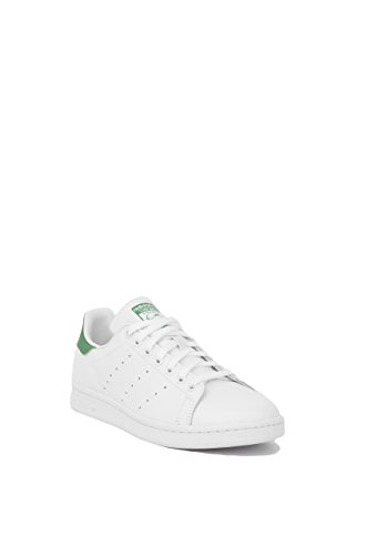 Adidas Performance Women's Stan Smith W Fashion Sneaker, White/White/Fairway, 8.5 M US