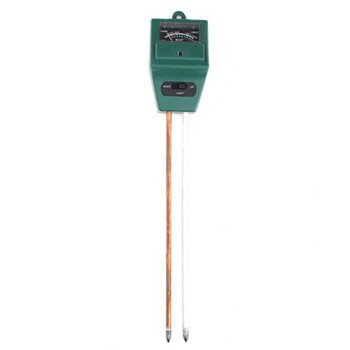 Garden Soil Moisture Light Acidity Ph Meter Tester 3In1 For Plant Health Test