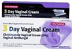 Clotrimazole 3 -Day Vaginal Cream - 0.74 Oz