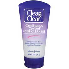 Johnson And Johnson Clean And Clear Continuous Control Acne Cleanser, 5 Ounce -- 24 Per Case. front-876391