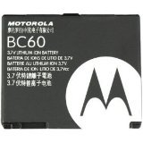 Replacement Battery for Motorola BC60 / L6