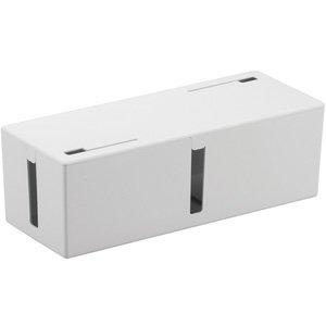 バッファロー ケーブルボックス Lサイズ(ホワイト) BSTB01L-WH