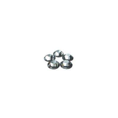 スワロフスキー SS12 ブラックダイヤモンド 72P