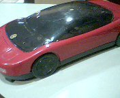 Kinyo Video Cassette Rewinder Model:uv-614 Red Ferrari Vhs Rewinder (Vhs Rewinder_ Date Code:0100 Ac117v---60hz---5w---ul Listed 80k5 Listed (Red Ferrari Style Vhs Tape Rewinder)