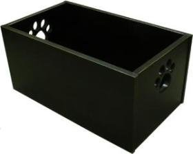 Dynamic Accents Dog Toy Box (Antique Black)