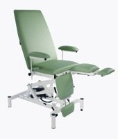 Doherty Variable Height Treatment Chair with Breathing Hole