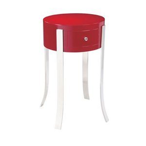 Cheap Bailey Street MAT121 Giovanni Accent End Table, Red (B000R9LVF2)