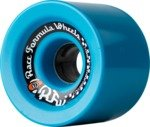 Sector 9 Race Formula Blue Longboard Wheels - 74.5mm 80a (Set of 4)