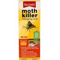 Moth Killer hanging unit Twin Pack by RENTOKIL