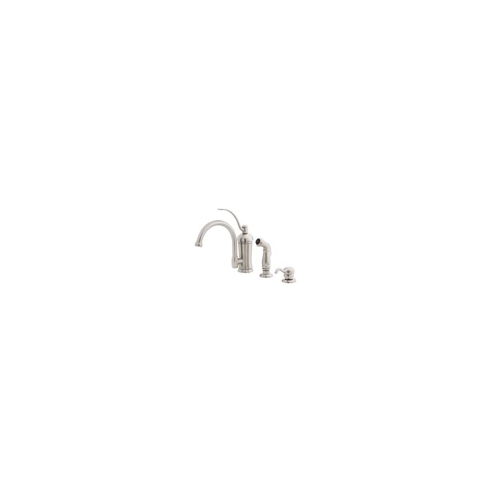 PRICE PFISTER Amherst Kitchen Faucet STAINLESS T34 PHAS