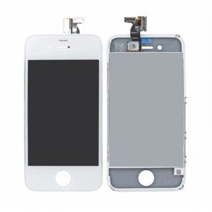 Complete replacement kit for iPhone 4G (Pre-assembled)includes (white) front glass and Digitizer + LCD Assembly + white back cover + white home button +Custom iPhone 4G screw & washer set + iPhone 4 tool kit + iPhone 4G front & Back screen protector set + Exclusive WizCrafter Microfiber Cloth (AT&T IPHONE 4G ONLY)