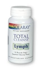 Solaray - Total Cleanse Lymph, 60 capsules