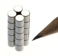 Scheibenmagnet Ø 4,0 x 4,0 mm N45 Nickel - hält 650 g