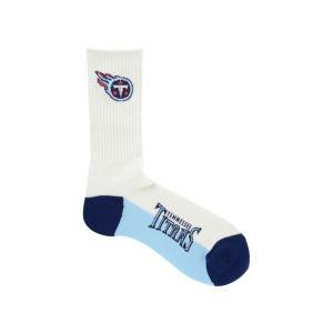 For Bare Feet Tennessee Titans Crew White 506 Socks