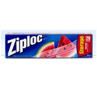 Ziploc Storage Bags Gallon 12 20-count BoxesB0000DIWQL