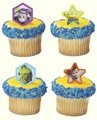 Toy Story 3 Cup Cake Rings 12pk
