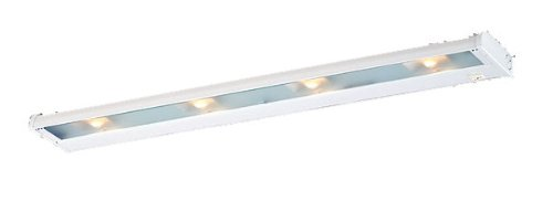 Csl Lighting Nca-120-32Bz Counter Attack 4-Light Undercabinet Fixture, Bronze Finish With Prismatic Glass Diffuser