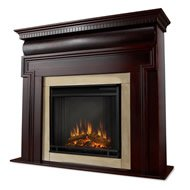 Dark Walnut Electric Fireplace Real Flame Mt.Vernon 6900E-DW photo B00F3HDV7Y.jpg
