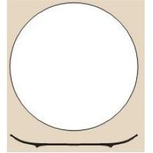 World Tableware Porcelana Bright White Coupe Round Plate, 11.25 inch