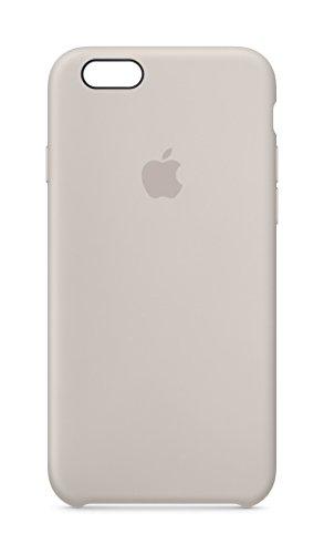 Apple MKY42ZM/A Silikon Schutzhülle für Apple iPhone 6/6S stein