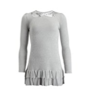 Autograph Metallic Effect Knitted Dress