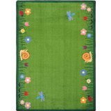 "Joy Carpets Kid Essentials Geography & Environment Summer Friends Rug, Multicolored, 3'10"" x 5'4"""