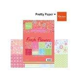 Marianne Design Marianne's Pretty Paper Bloc, Eline's Fresh Flowers - 1