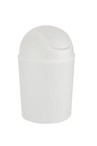 wenko-15199100-poubelle-a-couvercle-oscillant-arktis-transparent-32-cm